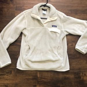 Patagonia cream sweater